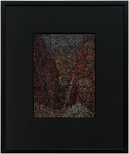 Daniel Boyd Jesus Christ!, 2010; paint, archival glue and digital print on paper; 40 x 30 cm; enquire