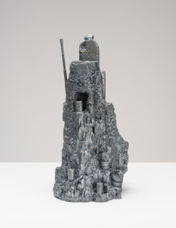 Fiona Hall Castles of Lost Destinies, 2015; Cat no. 15; Bronze; 30 x 15 x 14 cm; enquire