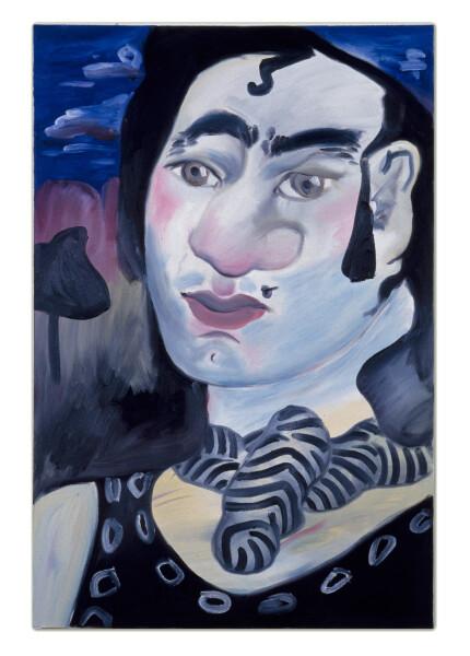 Linda Marrinon Hot Wax Emergency, 1990; oil on canvas; 91 x 61 cm; enquire