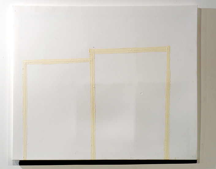 Hany Armanious The golden thread, 2009; cast pigmented polyurethane resin