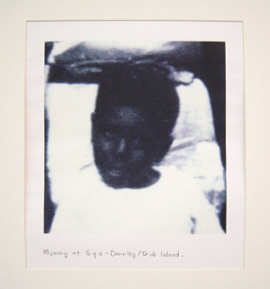 Destiny Deacon Mummy at 6 Years Old - Darnley/Erub Island, 1998; Colour laser print; 42.2 x 29.7 cm; Edition of 15; enquire