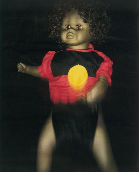 Destiny Deacon Dance Little Lady (b), 1994-00; Photograph; 70 x 56 cm; 90 x 76 cm (paper size), set of 4 images; Edition of 15; enquire