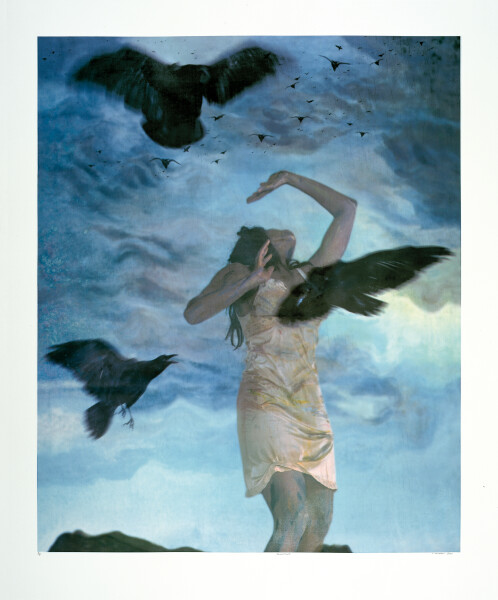 Tracey Moffatt Invocations  # 5, 2000; photo silkscreen; 146 x 122 cm; series of 13 images; Edition of 60; enquire