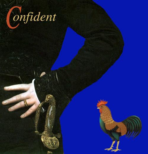 Anne Zahalka Confident, 1994; dye sublimation print; 25 x 25 cm; Edition of 20; enquire