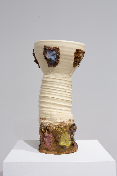Angela Brennan Epimelades, 2014; earthenware; 44 x 22 x 22 cm; enquire