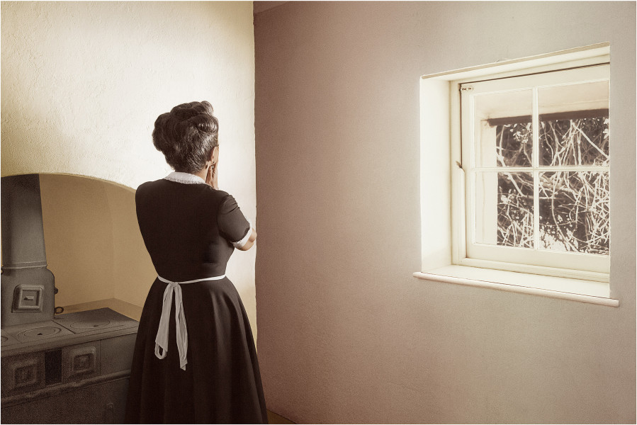 Tracey Moffatt Kitchen, 2017; from the series Body Remembers; digital pigment print on rag paper; 152 x 227 cm; Edition of 6 + AP 2; enquire
