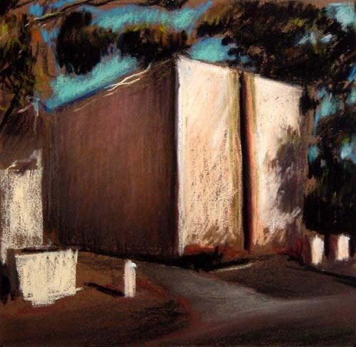 Louise Hearman Untitled #809, 1999; pastel on brown paper; 21 x 22 cm; enquire
