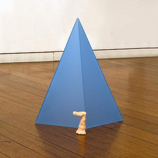 Mikala Dwyer 7, 2009; acrylic; 34 x 30 x 30 cm; enquire