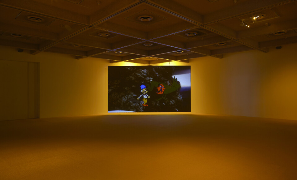 TV Moore Tripasso in Wackyland, 2014; video animation with sound; 8.30 min duration; Edition of 3 + AP 1; enquire