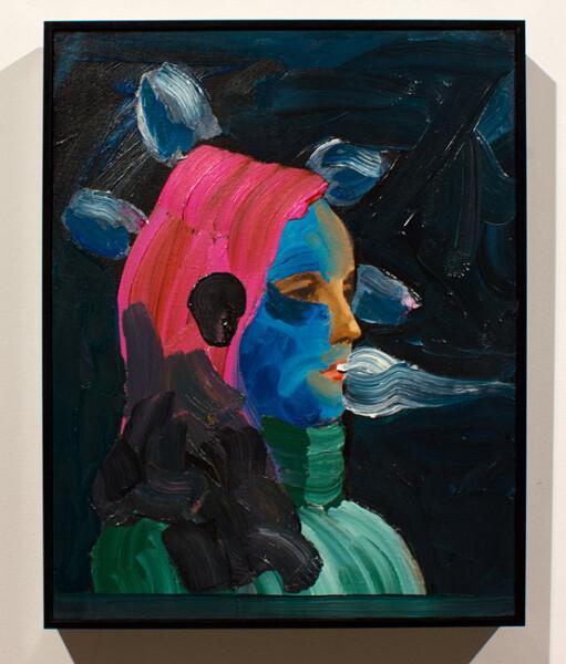 David Griggs Potato Gurl, 2012; oil on canvas; 47 x 37 cm; enquire