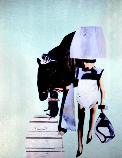"""Jacqueline Fraser """"HONEYBEE"""", 2007; 100 x 100 cm (framed); enquire"""