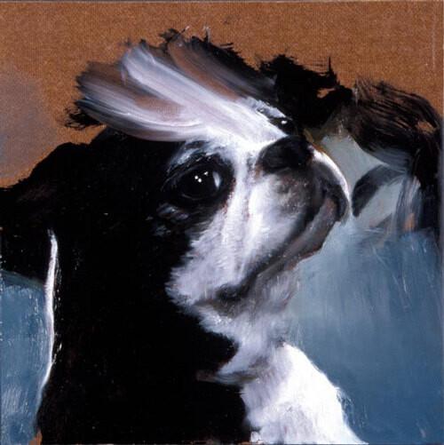 Louise Hearman Untitled #  1035, 2003; oil on masonite; 31 x 31 cm; enquire