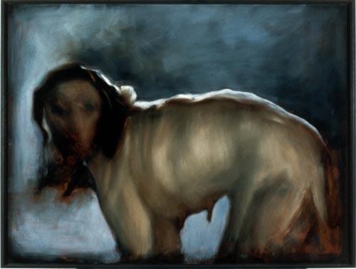 Louise Hearman Untitled #450, 1996; oil on masonite; 69 x 92 cm; enquire