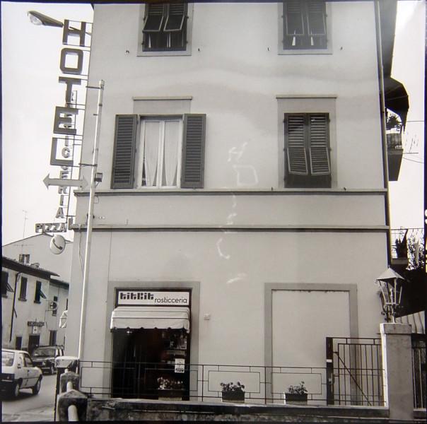Bill Culbert Hotel, Florence, 1992; silver gelatin prints; 40.5 x 40.5 cm; Edition of 25; enquire