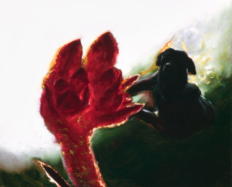 Louise Hearman Untitled #1251, 2007; oil on masonite; 50 x 61 cm; enquire