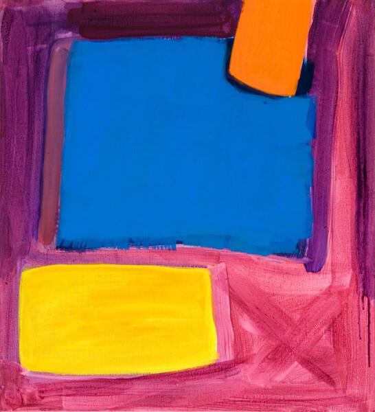 Angela Brennan Untitled, 2009; oil on linen; 66.5 x 60.5 cm; enquire