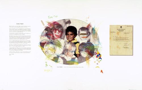Tracey Moffatt Tom Cat, 2004; Colour inkjet print on archival paper; 118 x 75 cm; enquire