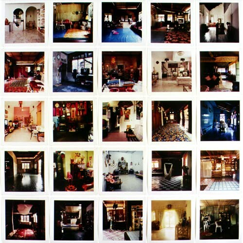 Simryn Gill Dalam, 2001; Type C colour photograph; 23.5 x 23.5 each. Series of 260 images, edition of 5; enquire
