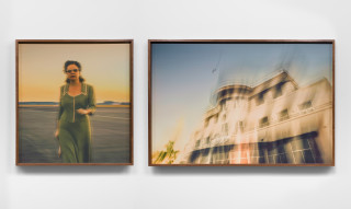 installation view; Tracey Moffatt The Airport, 2019; from the series Portals; c-type print; 79 x 73 cm, 79 x 117 cm; edition of 6 + 2 AP; enquire