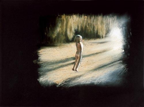 Louise Hearman Untitled #428, 1995; pastel on paper; 47 x 42 cm; enquire