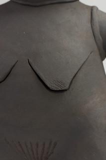 Renee So Woman IV (detail), 2018; stoneware; 45 x 23 x 20 cm; enquire