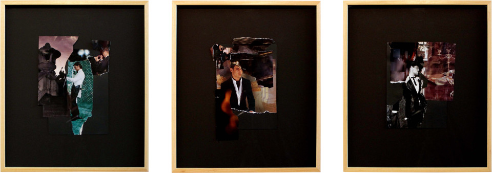Jacqueline Fraser The Making of American Gigolo, 2011, 2011; collage; 60 x 175 cm; enquire