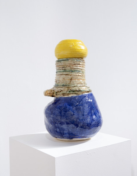 Angela Brennan Gaia, 2014; earthenware; 42 x 27 x 27 cm; enquire