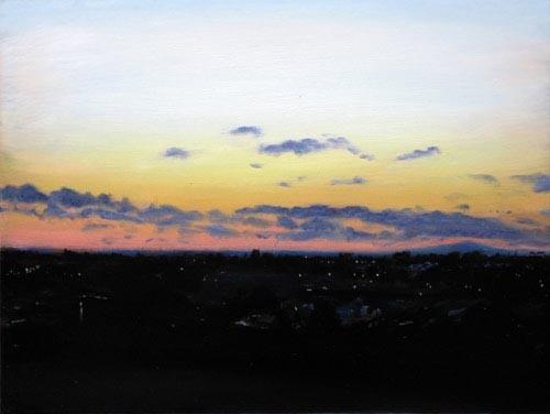Louise Hearman Untitled #1093, 2005; oil on masonite; 46 x 61 cm; enquire