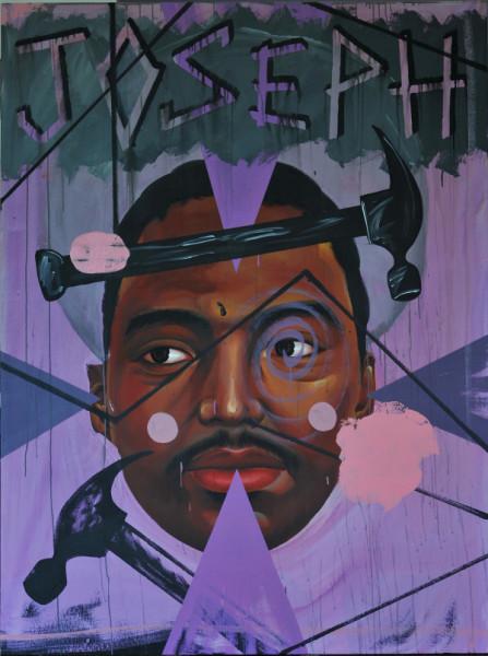 David Griggs JOSEPH, 2010; acrylic on canvas ; 183 x 137 cm; enquire