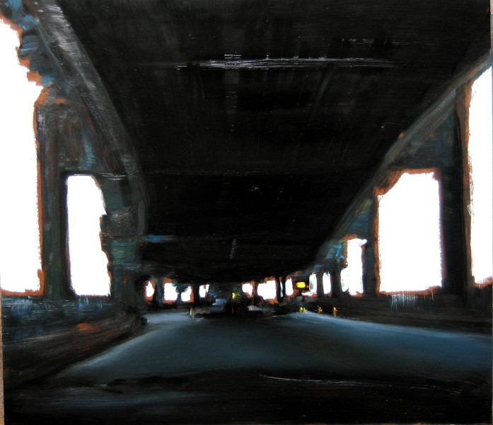 Louise Hearman Untitled #1125, 2005; oil on masonite; 53 x 61 cm; enquire