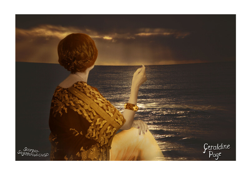 Tracey Moffatt Geraldine Page, 2005; archival pigment ink on acid-free rag paper; 43.2 x 58.4 cm; Edition of 21; Enquire