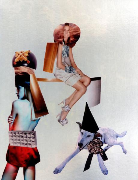 """Jacqueline Fraser """"BELLA, BABY"""", 2007; 100 x 100 cm (framed); enquire"""