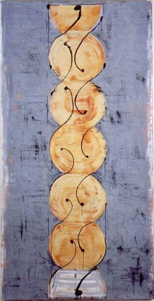 John Firth-Smith Turn, 2001; Oil on linen; 8 ft x 4 ft; enquire