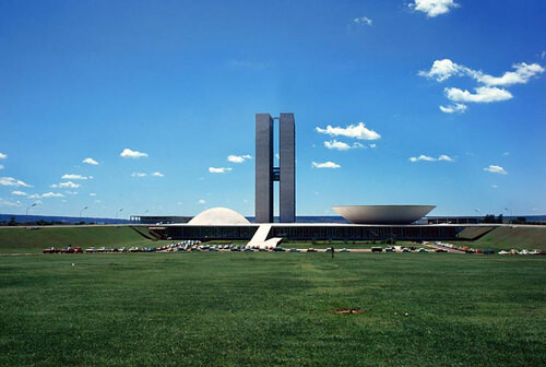Harry Seidler Brasilia, The Capital, 1974; from the series Architect: Oscar Niemeyer, completed 1957-60; 71 x 106.5 cm (image size) 95.5 x 125 cm (frame size) edition of 6; enquire