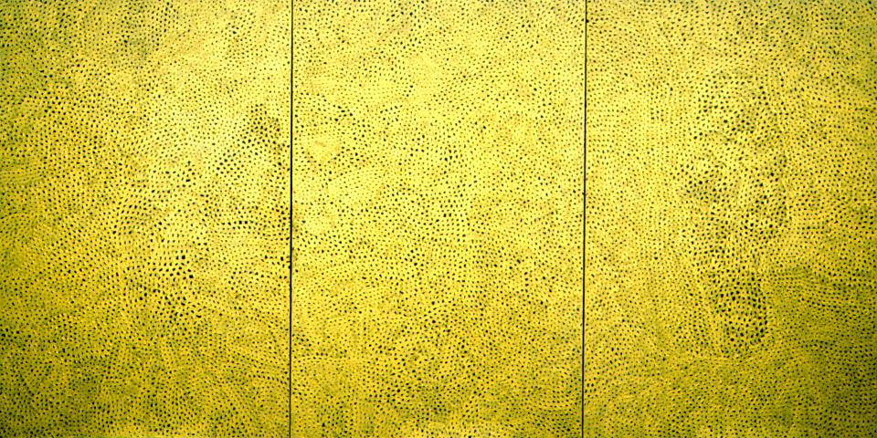 Yayoi Kusama Original Infinity Nets, 1999; Acrylic on canvas; 194 x 391 cm; enquire