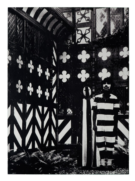 David Noonan Tudor Style, 2003; silk screen on laminated plywood; 70 x 48 cm; Edition of 13; enquire