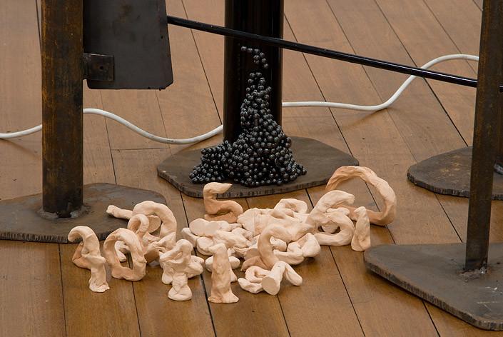 Mikala Dwyer 41, 2009; molding clay; 10 x 45 x 35 cm; enquire