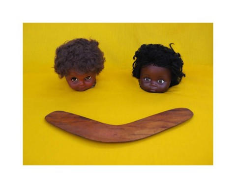 Brook Andrew, Destiny Deacon, 'Blak To The Future,' National Gallery of Victoria, Melbourne