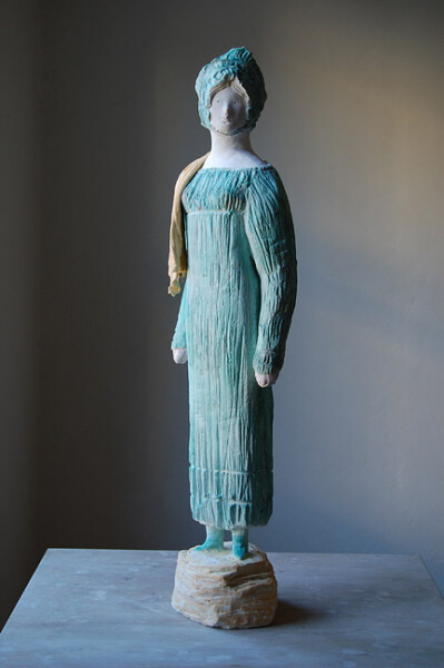 Linda Marrinon Convict Mary Wade, 2012; painted plaster; 72 x 20 cm; enquire