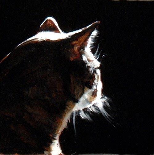 Louise Hearman Untitled #1133, 2005; oil on masonite; 28 x 28 cm; enquire