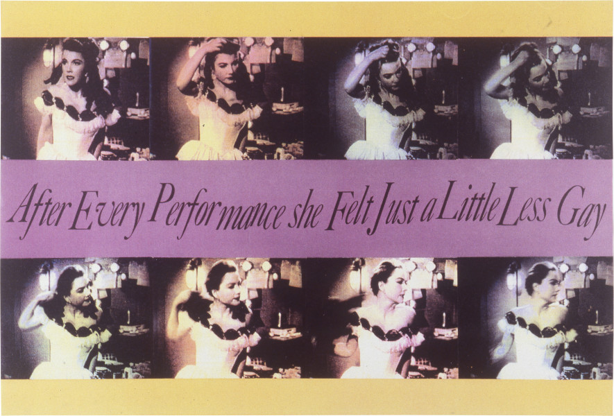 Lisa Zanderigo and Kaye Shumack The Wig, 1994; type C photographic print; 112 x 150 cm; enquire