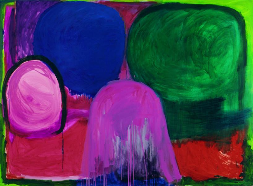 Angela Brennan Found Landscape I, 2002; Oil on linen; 199 x 275 cm; enquire