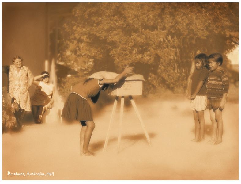 Tracey Moffatt I made a camera, 2003; Lithographic print; 22 x 29 cm; image size; Edition of 750; enquire