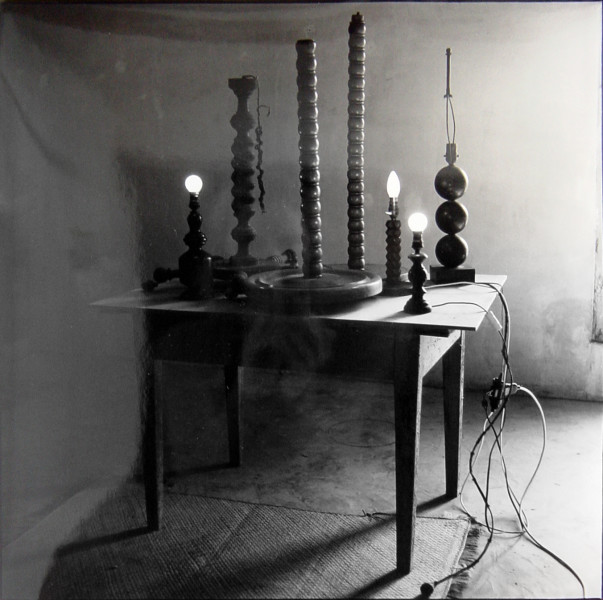 Bill Culbert Table Lamp 5, France, 1996; silver gelatin prints; 40.5 x 40.5 cm; Edition of 25; enquire
