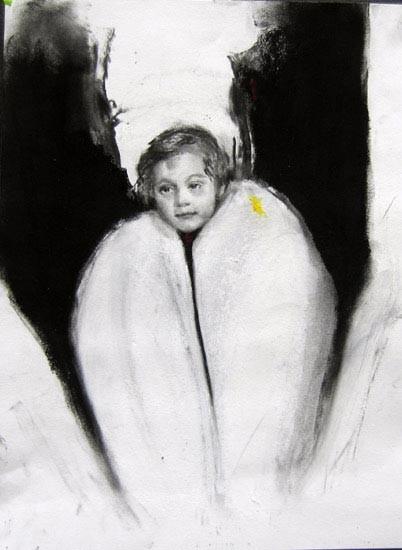 Louise Hearman Untitled #1075, 2004; pastel on paper; 35 x 23 cm; enquire