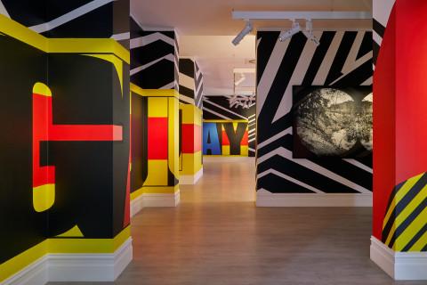 Brook Andrew at Murray Art Museum Albury