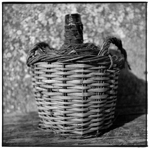 Bill Culbert Bonbonne - Basket, cane, double handle I, 2002; Edition of 25; enquire