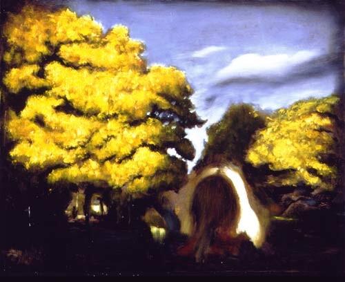 Louise Hearman Untitled #570, 1997; Oil on masonite; 53 x 69 cm; enquire