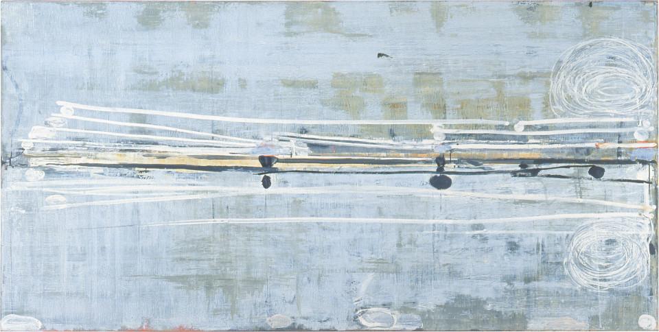 John Firth-Smith Echo #5, 1999; oil on linen; 112 x 243.8 cm; enquire