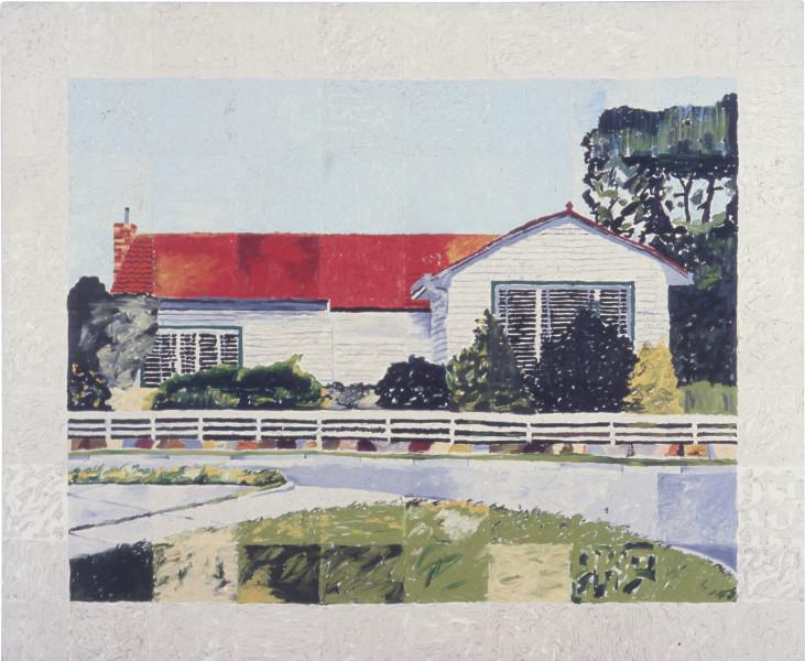 Jenny Watson House Paintings: Blackburn (large version), 1977; oil on canvas; 179 x 213 cm; enquire